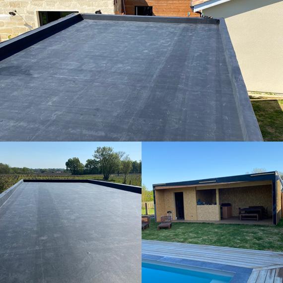 étancheité toit plat
